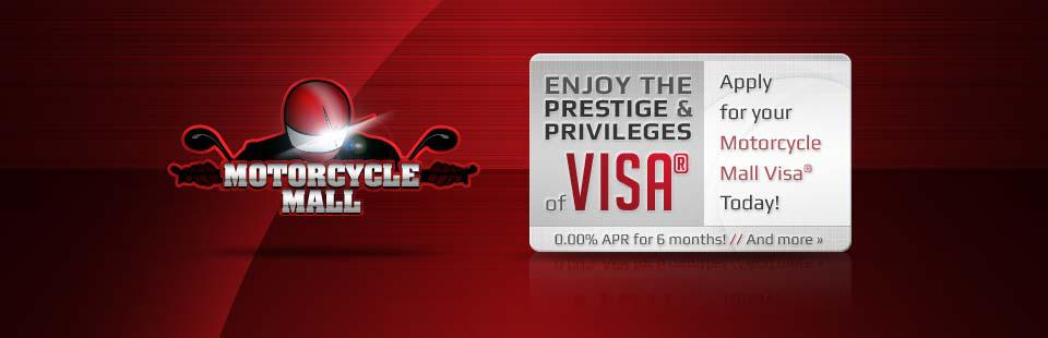 Apply for your Motorcycle Mall Visa® today!