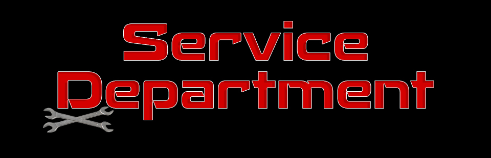 We have a Service Department!