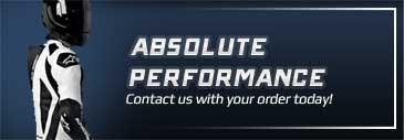 Absolute Cycle Performance: contact us with your order today!