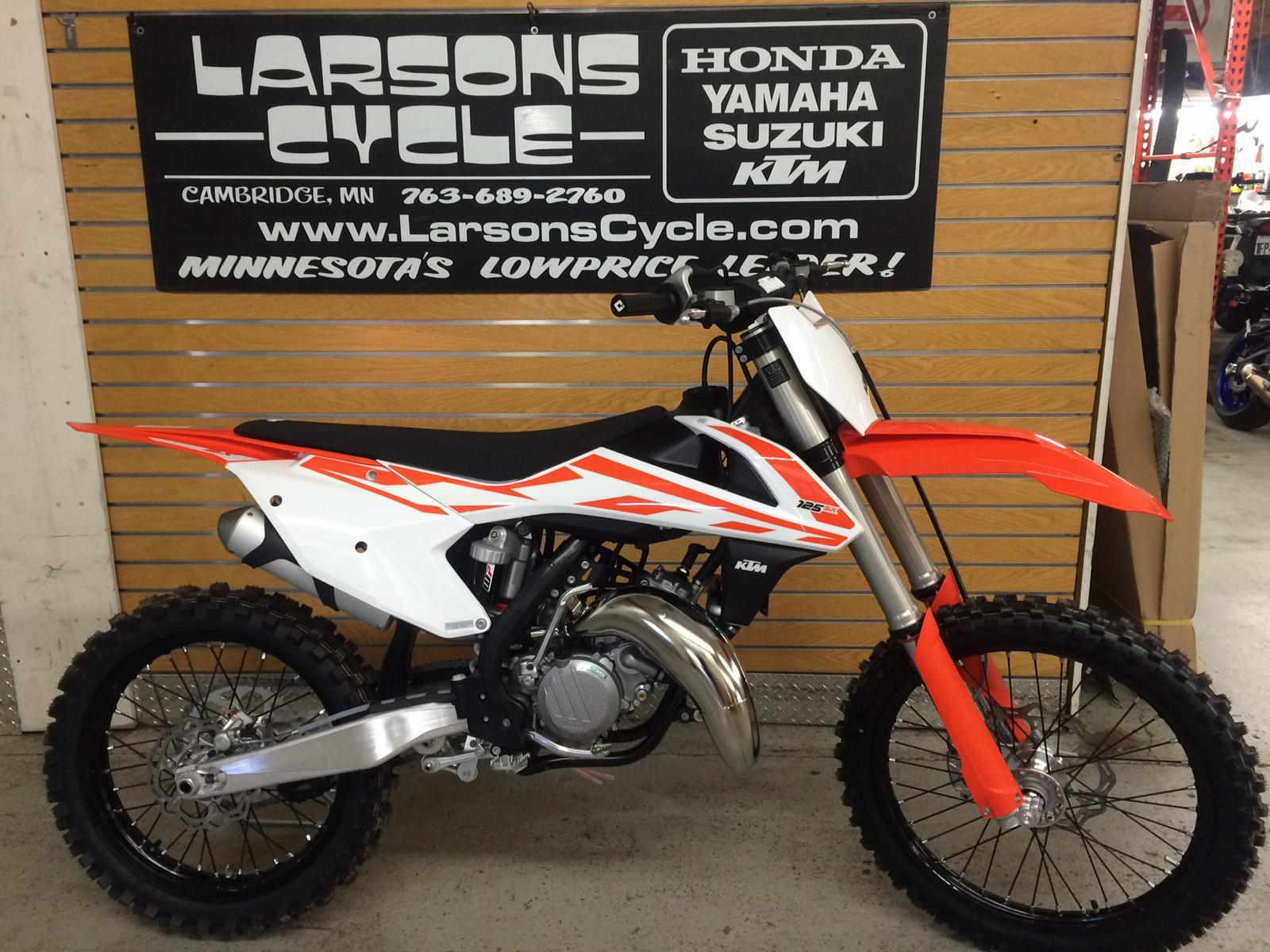 2017 ktm 125 sx for sale in cambridge, mn | larson's cycle inc