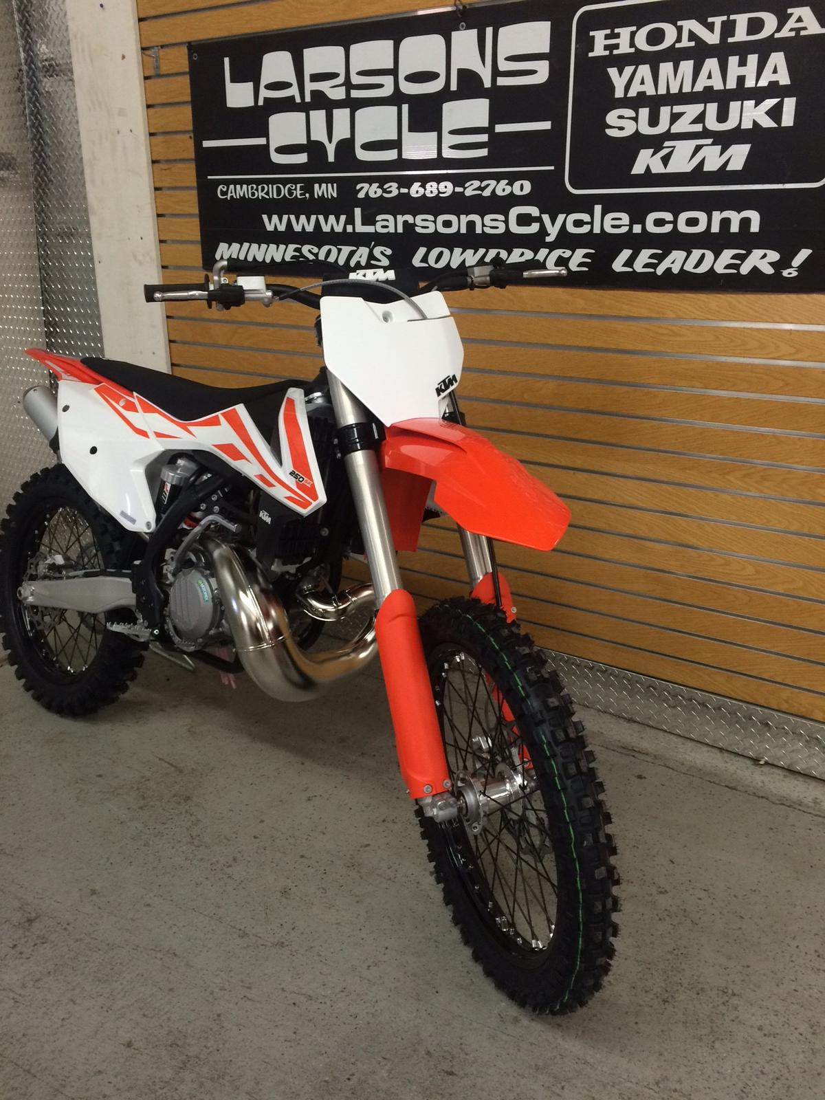 2017 ktm 250 sx for sale in cambridge, mn | larson's cycle inc