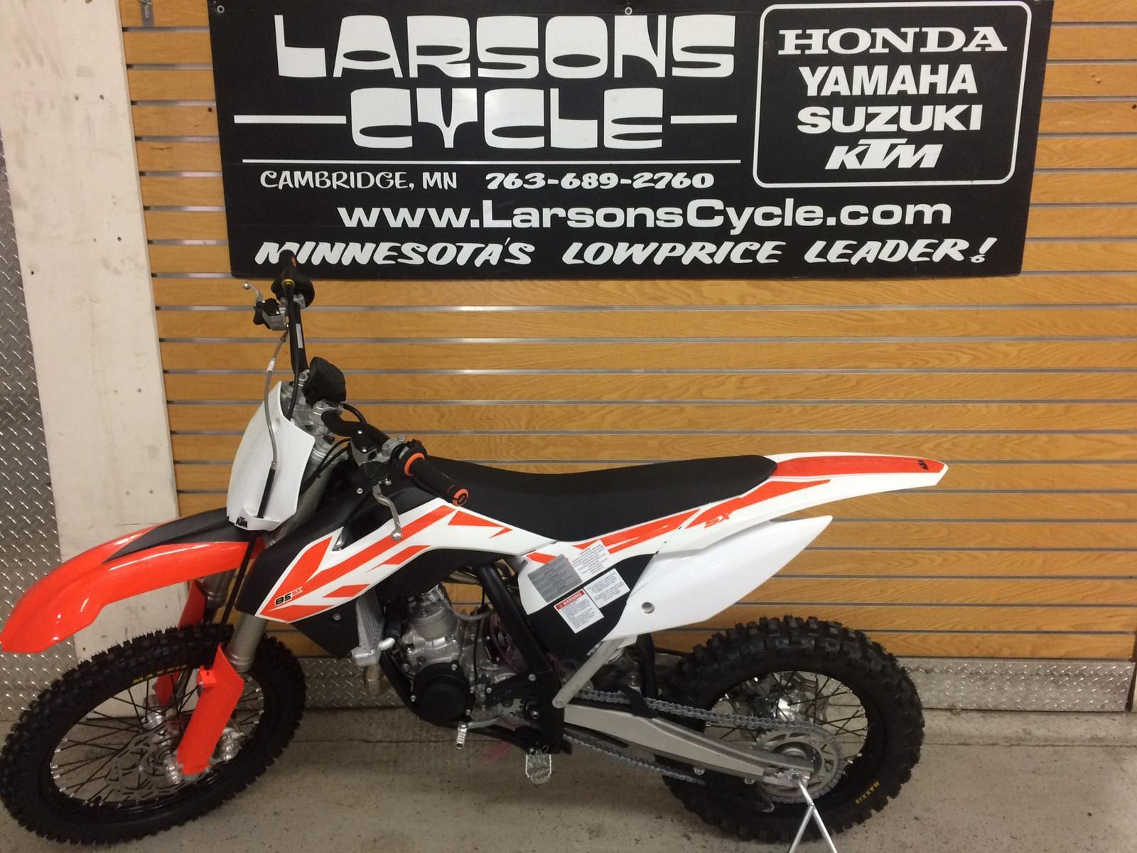 2017 ktm 85 sx 17/14 for sale in cambridge, mn | larson's cycle