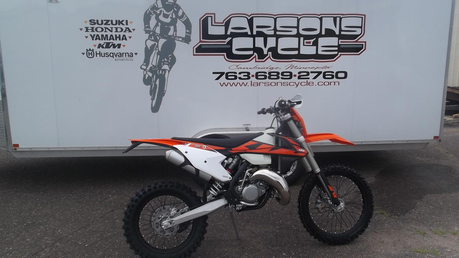 2018 ktm 150 xc-w for sale in cambridge, mn | larson's cycle inc