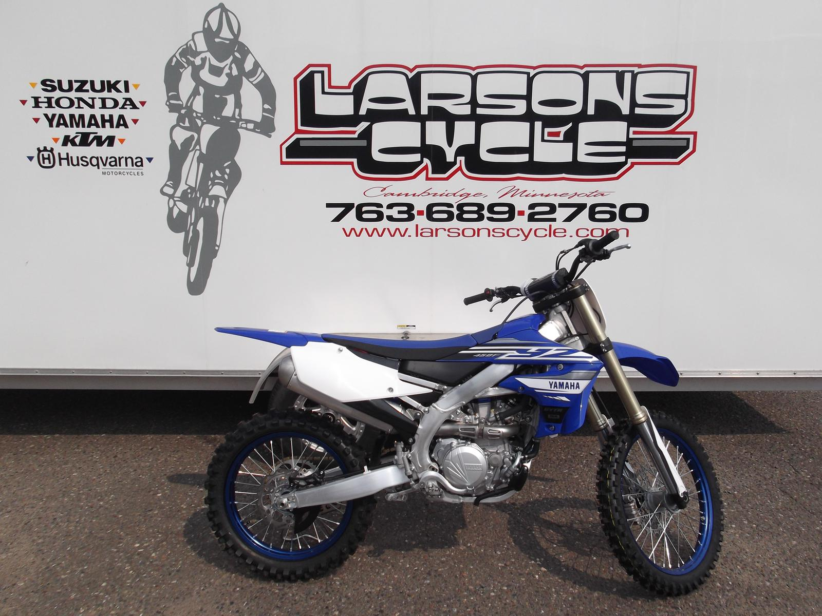 2019 Yamaha YZ450F for sale in Cambridge, MN  Larson's Cycle