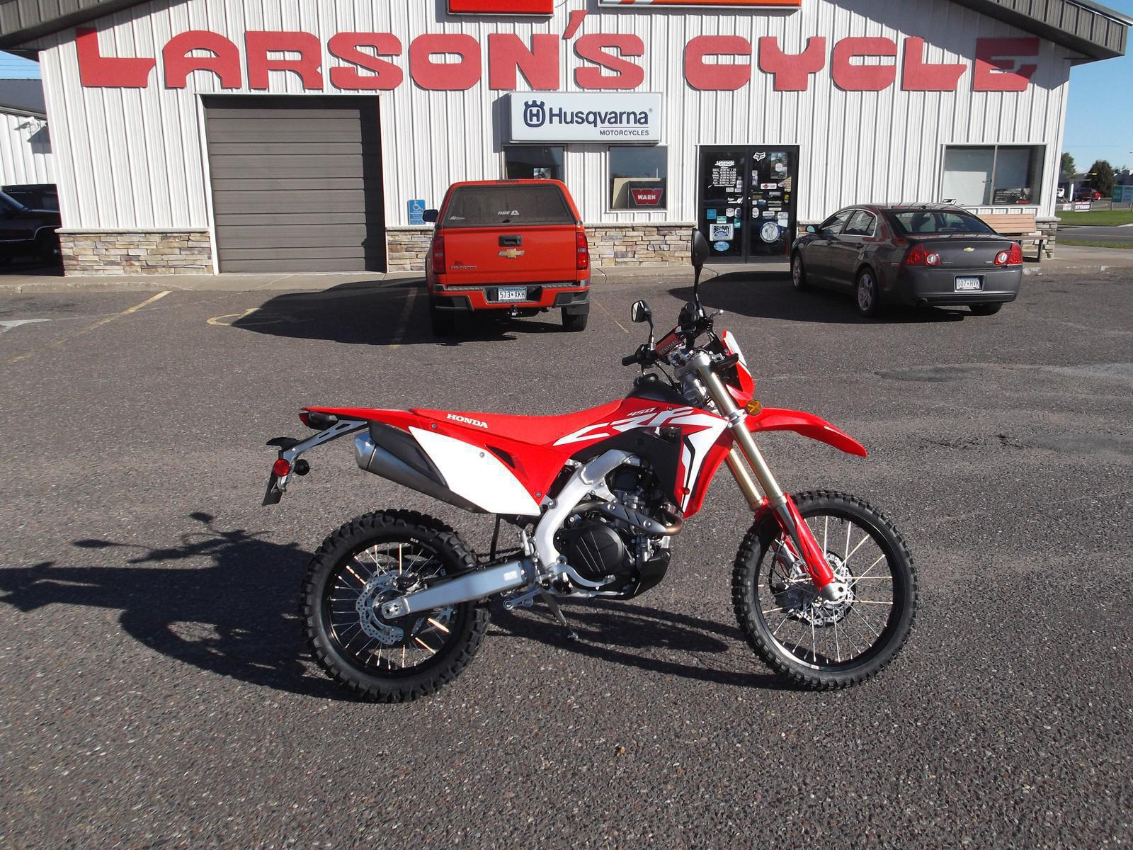 2019 Honda Crf450l For Sale In Cambridge Mn Larsons Cycle Inc