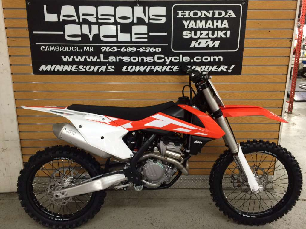 2016 ktm 250 sx-f for sale in cambridge, mn | larson's cycle inc