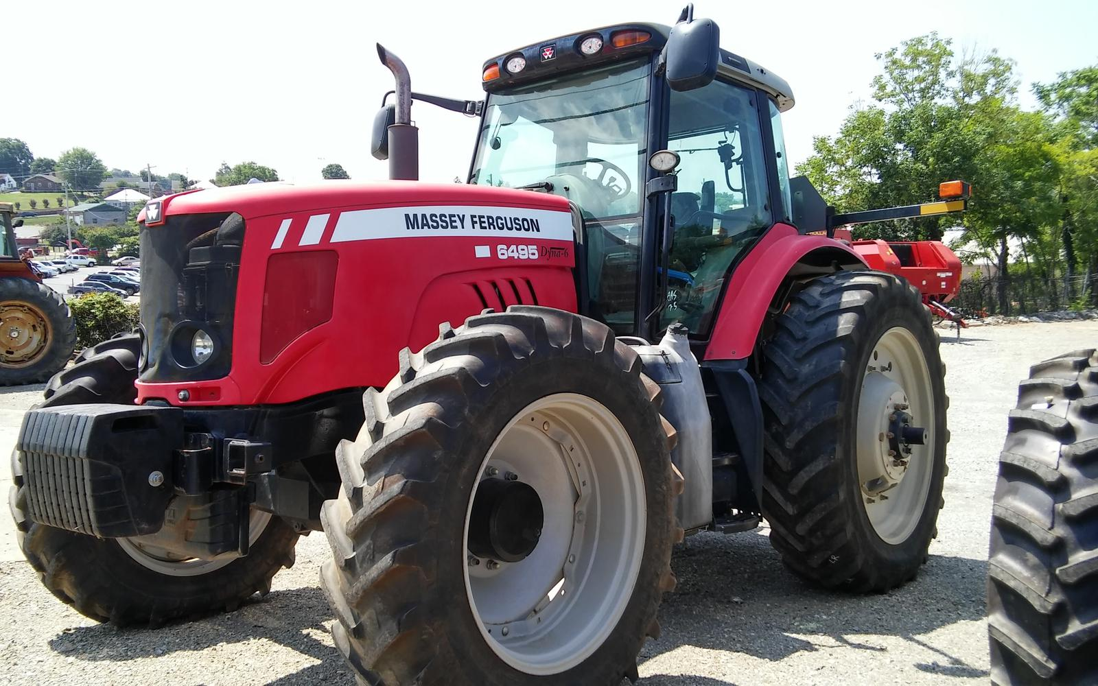 2009 Massey Ferguson 6495 High Horsepower Tractor