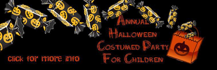 Annual Halloween Costumed Party For Children