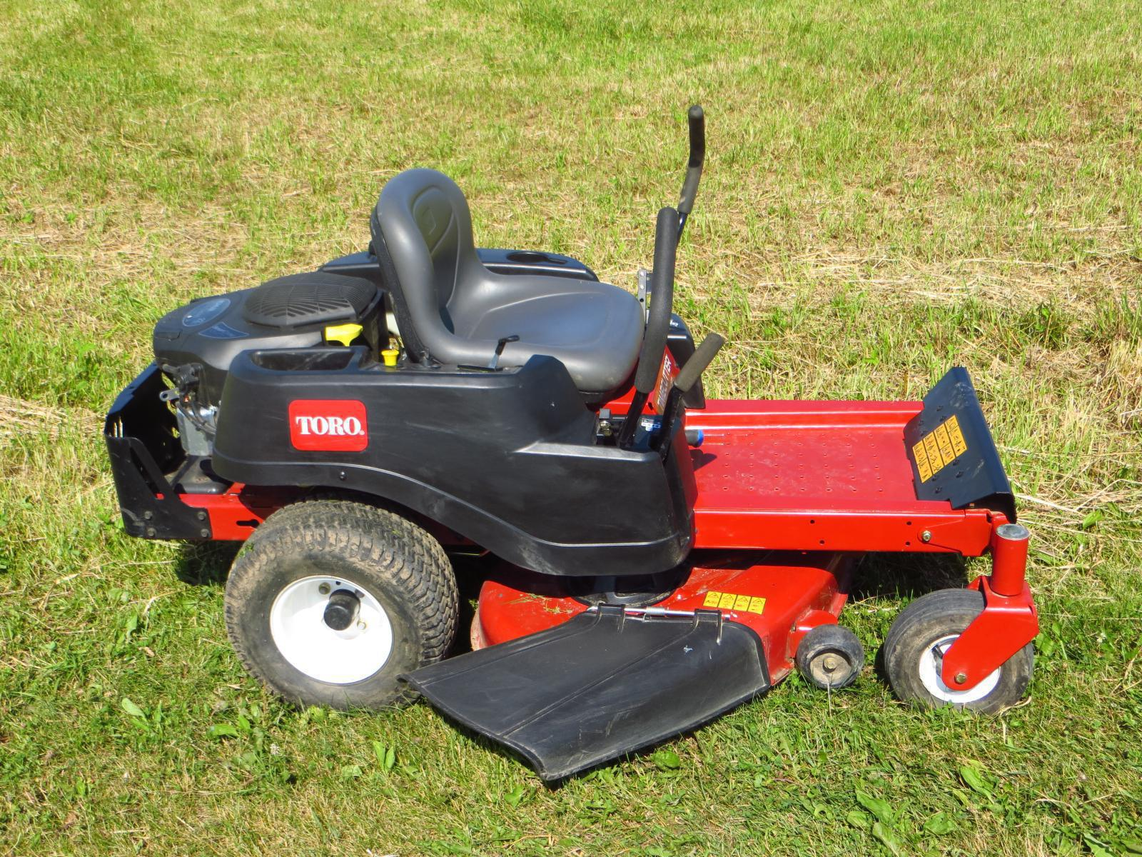 Toro timecutter z and wheel horse residential duty riding mowers are - 118_toro Timemaster Ss4225 Residential Zero Turn M