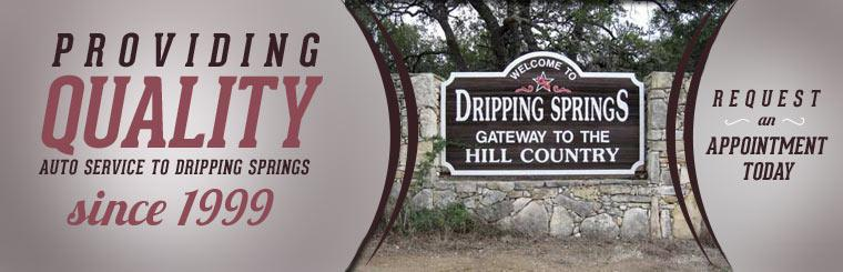 L & L Automotive has been providing quality auto service to Dripping Springs since 1999! Request an appointment today!