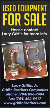 Used Equipment for Sale: Please contact Larry Griffin for more info.
