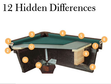 12 Hidden Differences
