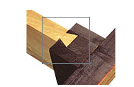 Solid Wood Dovetail Support