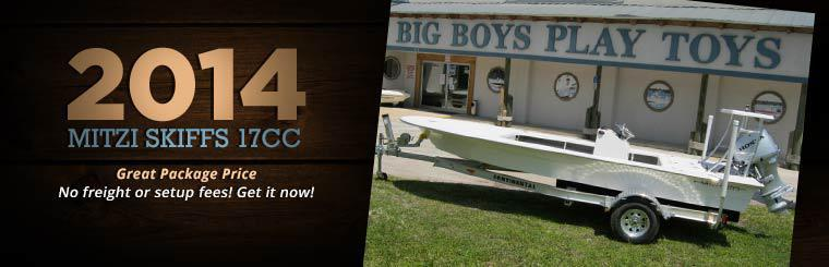 2014 Mitzi Skiffs 17CC Package: No freight or setup fees! Get it now!