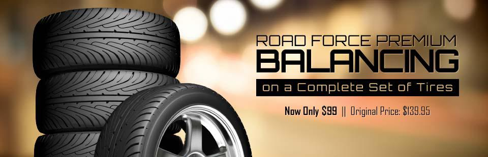Road Force Premium Balancing: Now only $99!
