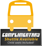 Complimentary Shuttle Available!