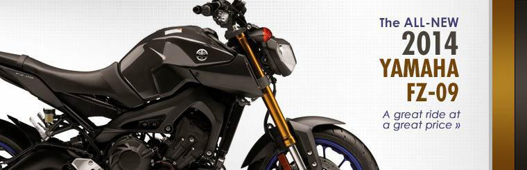 The 2014 Yamaha FZ-09 is a great ride at a great price!