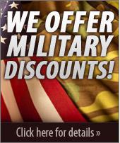We offer military discounts! Click here for details >>