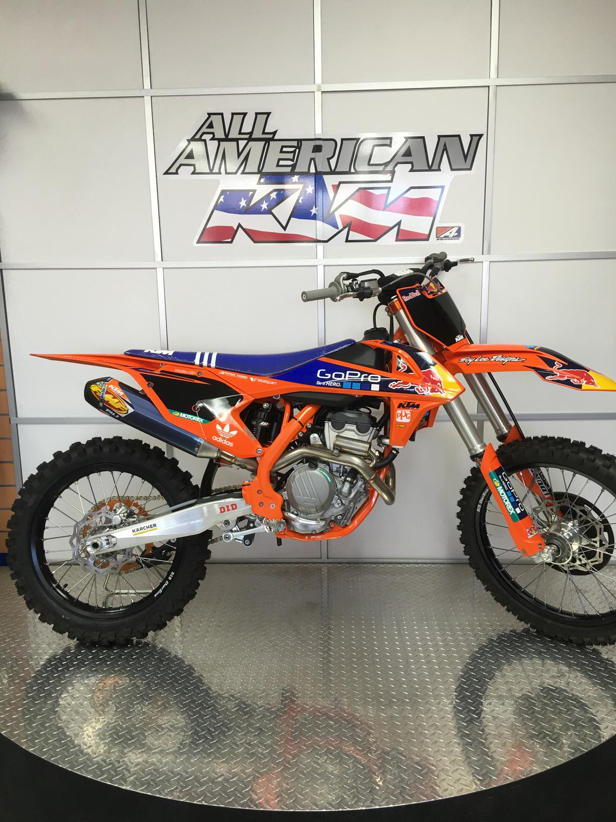 2016 ktm 250 sx-f factory edition for sale in poway , ca | poway