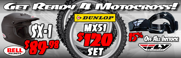 MX Gear Sale
