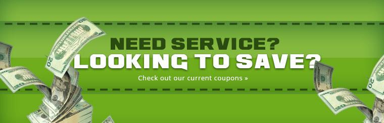 Check out our current coupons.
