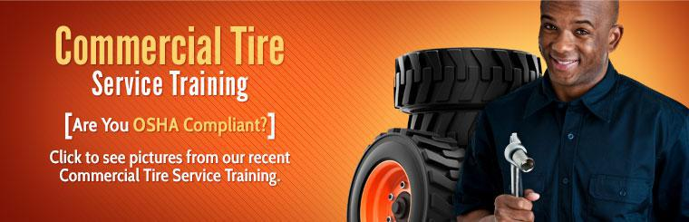 Commercial Tire Service Training: Click to see pictures from our recent Commercial Tire Service Training.