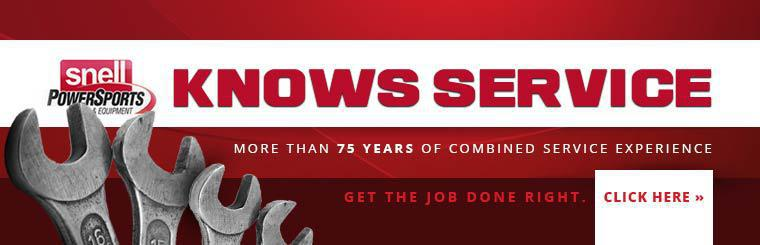 Snell has more than 75 years of combined service experience!