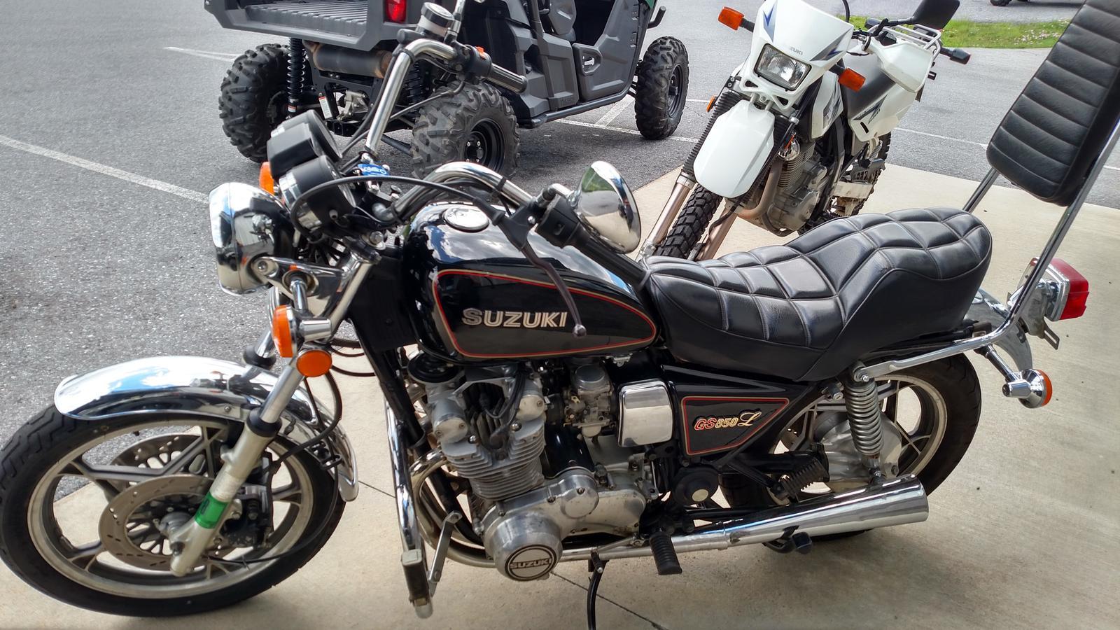 1980 suzuki gs 850l for sale in bedford, pa. bedford suzuki-yamaha