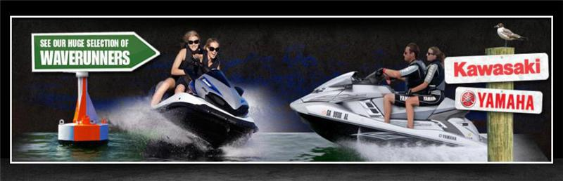 See our huge selection of WaveRunners.