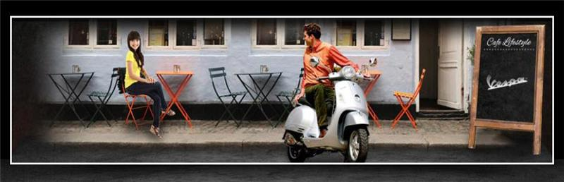 Click here to view our Vespa scooters.