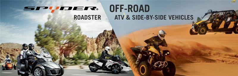Spyder Roadster & Can-Am Off-Road Vehicles