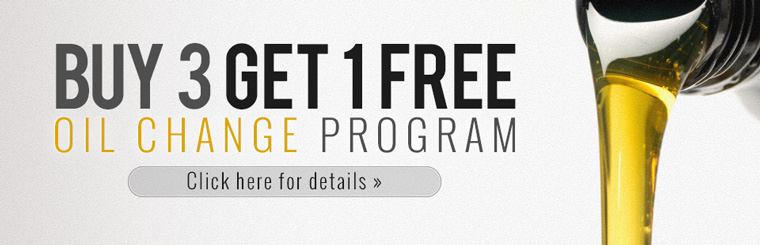 Buy 3 Get 1 Free Oil Change Program available at Ellis Automotive in Aurora, CO.