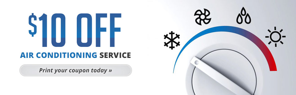 Click here to get your coupon for $10 off air conditioning service!