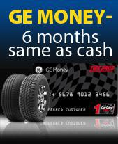 GE Money - 6 mths same as cash