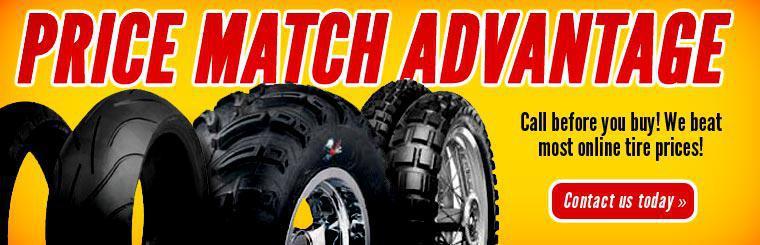 Price Match Advantage: Call before you buy! We beat most online tire prices! Click here to contact us today.