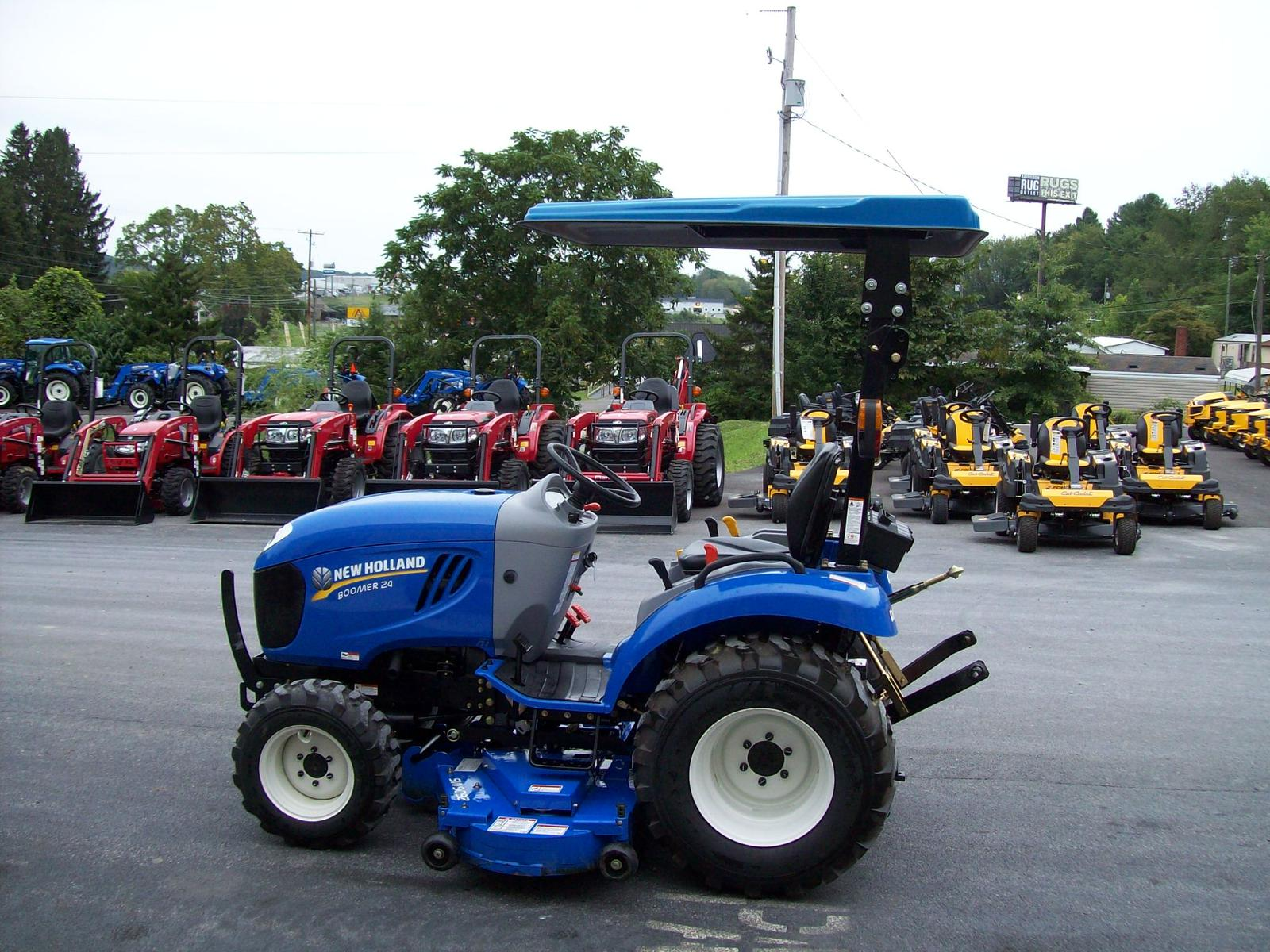 2017 New Holland Agriculture Boomer Series 24 HP Boomer 24 for sale in Abingdon VA | Progressive Tractor Inc. (800) 443-1735 & 2017 New Holland Agriculture Boomer Series 24 HP Boomer 24 for ...