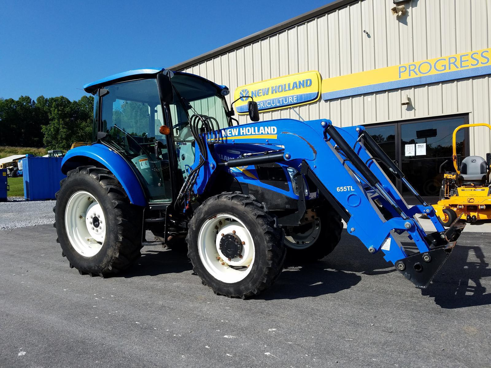 2014 New Holland Agriculture T4 Series PowerStar™ - T4.75 F C New Holland Wiring Schematic on
