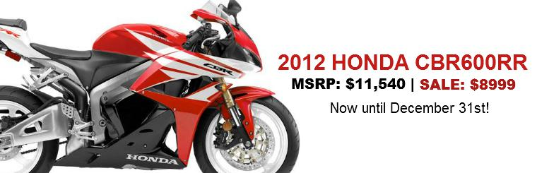 Honda CBR600RR - On Sale Now!