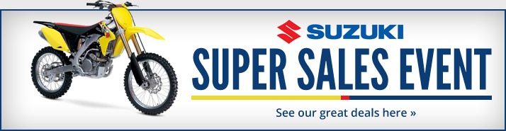 Suzuki Super Sales Event. See our great deals here.