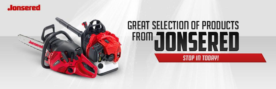 Click here to view Jonsered outdoor equipment!