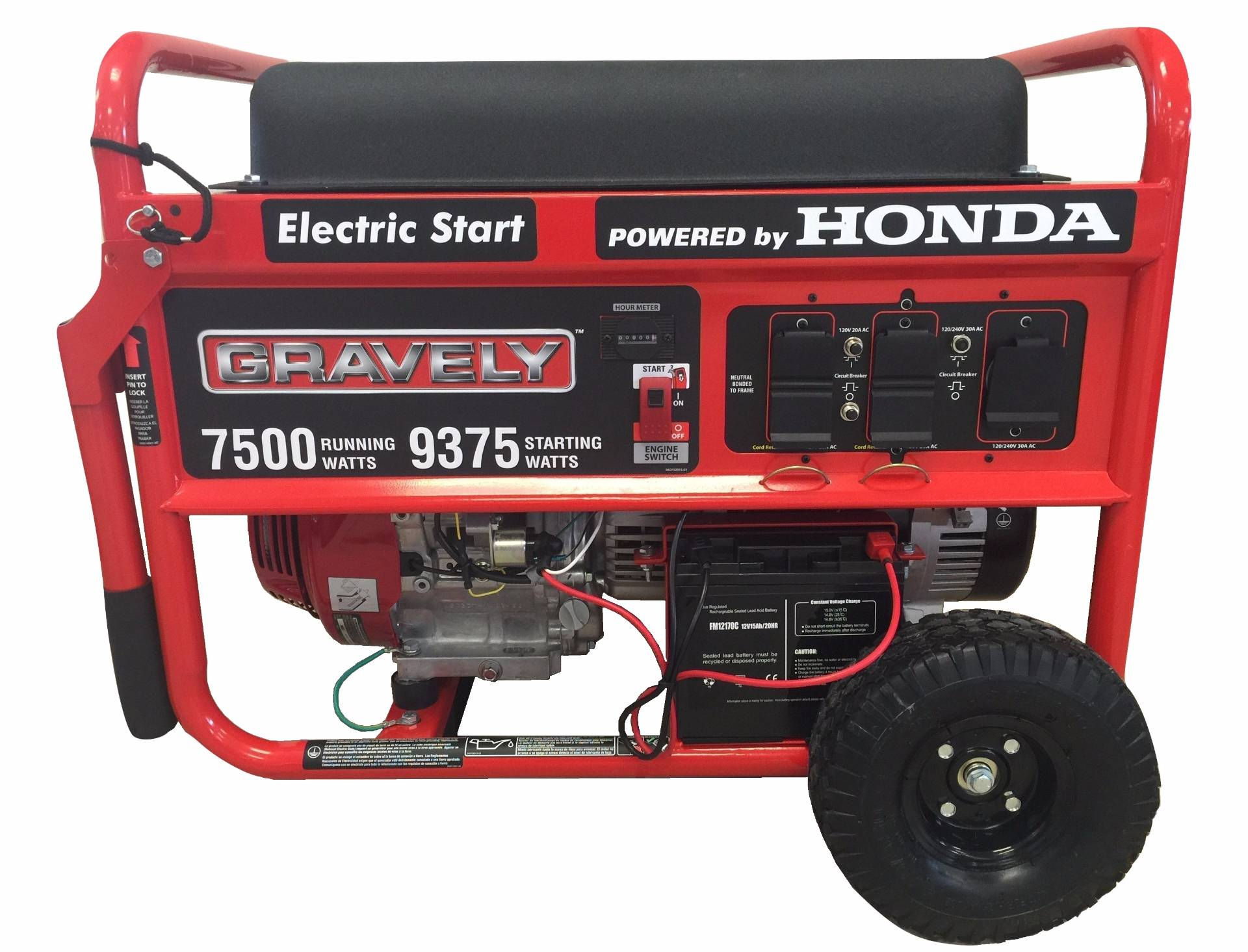 2016 Gravely 7500 Watt Generator for sale in Peabody MA