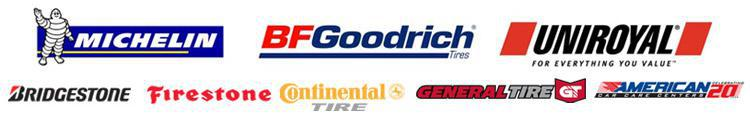 We carry products from Michelin®, BFGoodrich®, Uniroyal®, Bridgestone, Firestone, Continental, and General. We are affiliated with American Car Care.