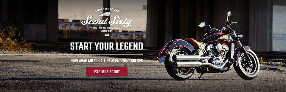Two Toned Indian Scout Sixty