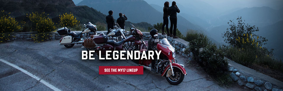 Indian Motorcycle 2017 LineUp