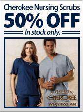 Cherokee Nursing Scrubs 50% off! In stock only.
