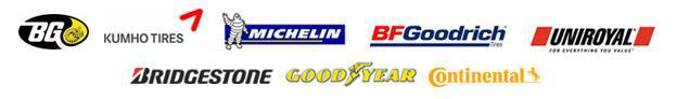 We are proud to feature products from BG Products, Kumho, Michelin®, BFGoodrich®, Uniroyal®, Bridgestone, Goodyear,  and Continental!
