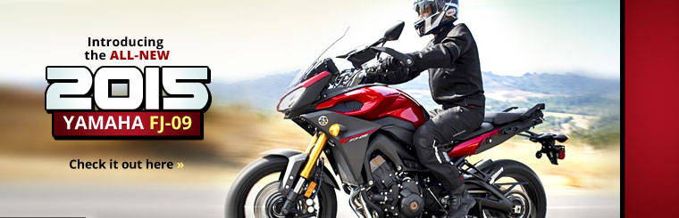 2015 Yamaha FJ-09: Click here to view the model.