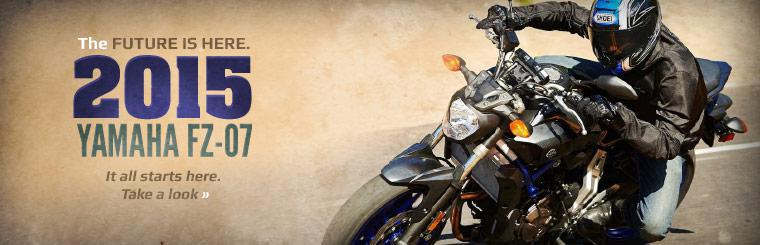 Click here to take a look at the 2015 Yamaha FZ-07!