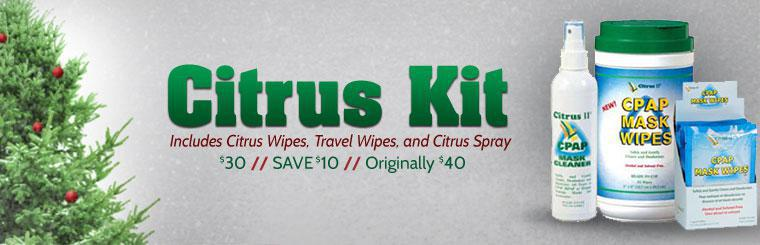 Citrus Kit: Get yours for just $30! This offer includes citrus wipes, travel wipes, and citrus spray. Click here to browse online.