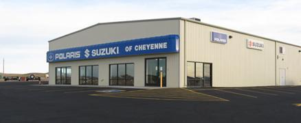 Polaris Suzuki of Cheyenne